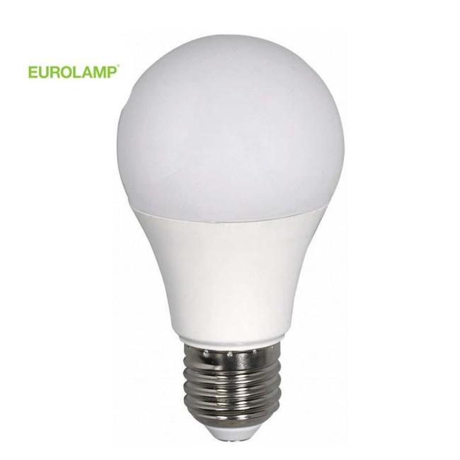ΛΑΜΠΑ LED ΚΟΙΝΗ 8W E27 6500K 220-240V | EUROLAMP |