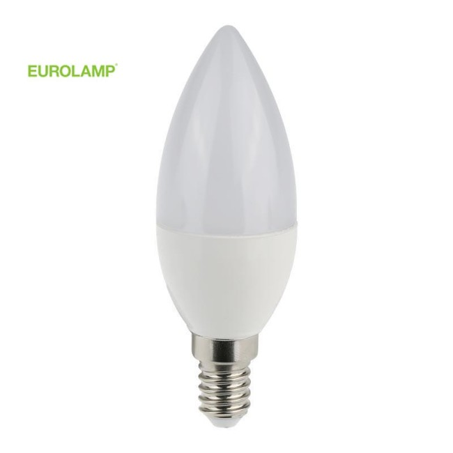 ΛΑΜΠΑ LED ΜΙΝΙΟΝ 5W Ε14 6500K 220-240V | EUROLAMP |
