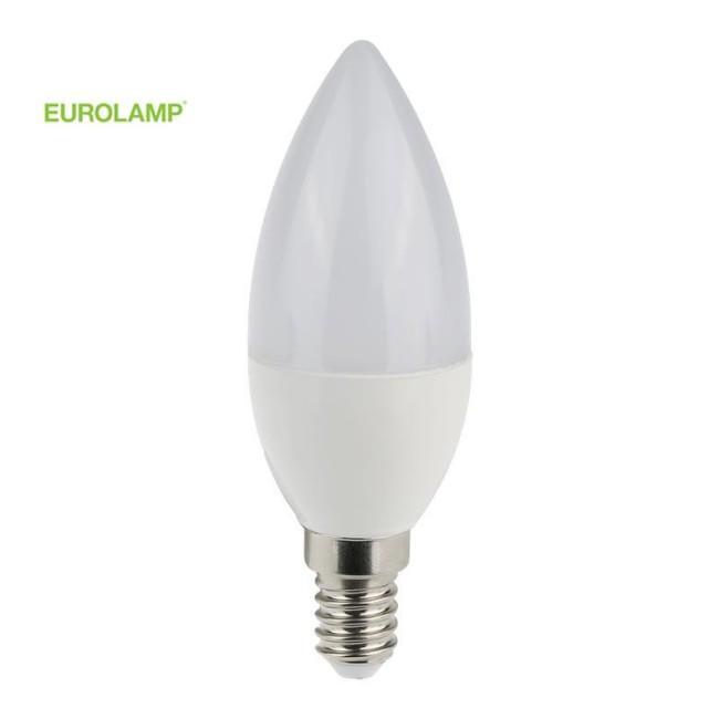 ΛΑΜΠΑ LED ΜΙΝΙΟΝ 7W Ε14 4000K 220-240V | EUROLAMP |
