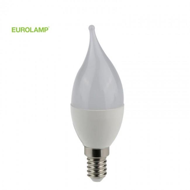 ΛΑΜΠΑ LED MINION ΤΣΟΥΝΙ 7W E14 2700K 220-240V EUROLAMP