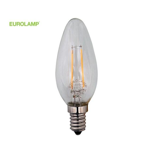 ΛΑΜΠΑ LED ΜΙΝΙΟΝ FILAMENT 4W E14 2700K 220-240V DIMMABLE | EUROLAMP |
