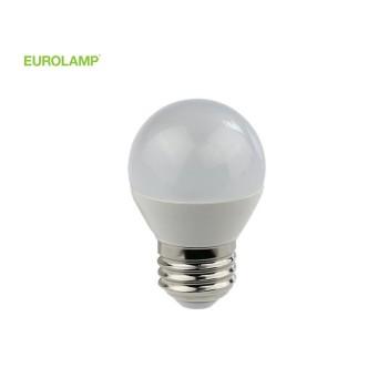 ΛΑΜΠΑ LED ΣΦΑΙΡΙΚΗ 5W Ε27 4000K 220-240V | EUROLAMP |