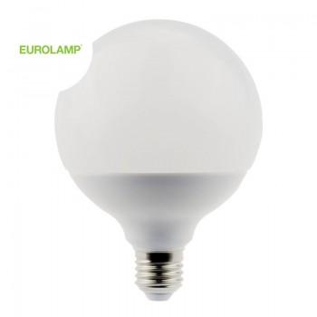 ΛΑΜΠΑ LED SMD ΓΛΟΜΠΟΣ Φ110 18W Ε27 2700K 220-240V | EUROLAMP |