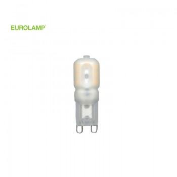 ΛΑΜΠΑ LED SMD 3W G9 2700 220-240V ΠΛΑΚΕ EUROLAMP