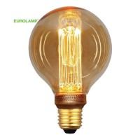 ΛΑΜΠΑ LED ΓΛΟΜΠΟΣ G95 3,5W Ε27 2000K 220-240V GOLD GLASS DIMMABLE