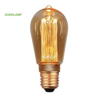 ΛΑΜΠΑ LED ST64 3.5W E27 2000K 220-240V GOLD DIMMABLE