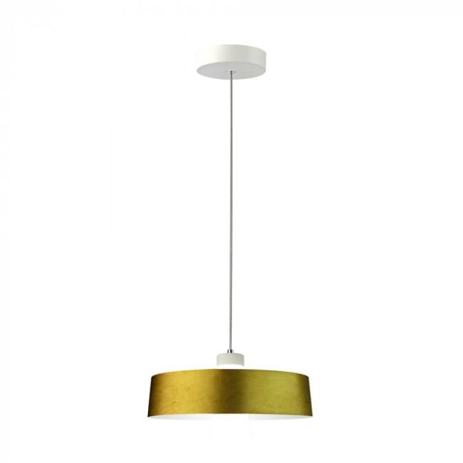 LED Κρεμαστό φωτιστικό Ακρυλικό Χρυσό Ø340 Φυσικό λευκό 4000Κ