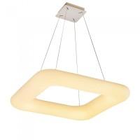 LED κρεμαστό φωτιστικό οροφής 40W με εναλλαγή χρώματος και λευκό σώμα Dimmable