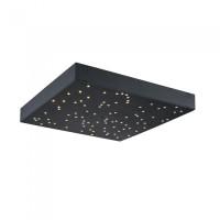 LED φωτιστικό οροφής 8W Stars με εναλλαγή χρώματος και Dimmable με μαύρο σώμα